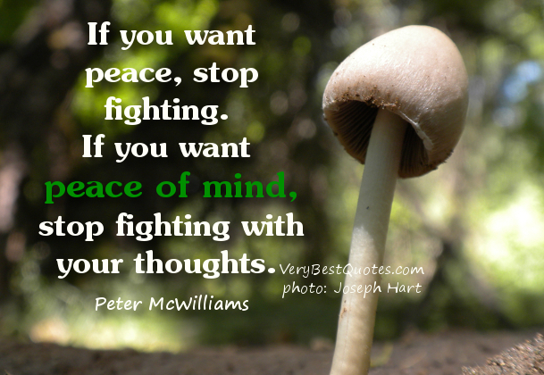 64 Best Peace Of Mind Quotes And Sayings 38553