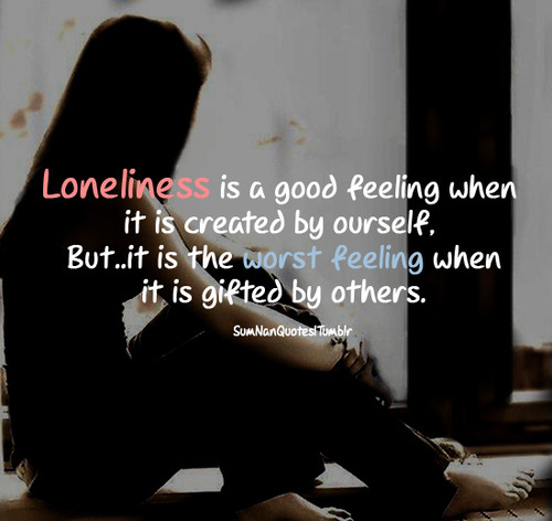 Sad Alone Girl Quotes (2)