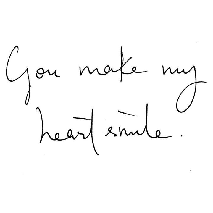 this smile is because of you quotes
