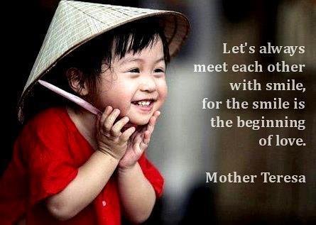 Mother Teresa Quotes Smile (3)