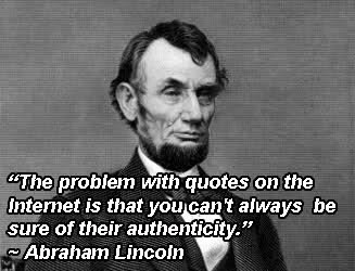 Abraham Lincoln Quotes Internet (3)